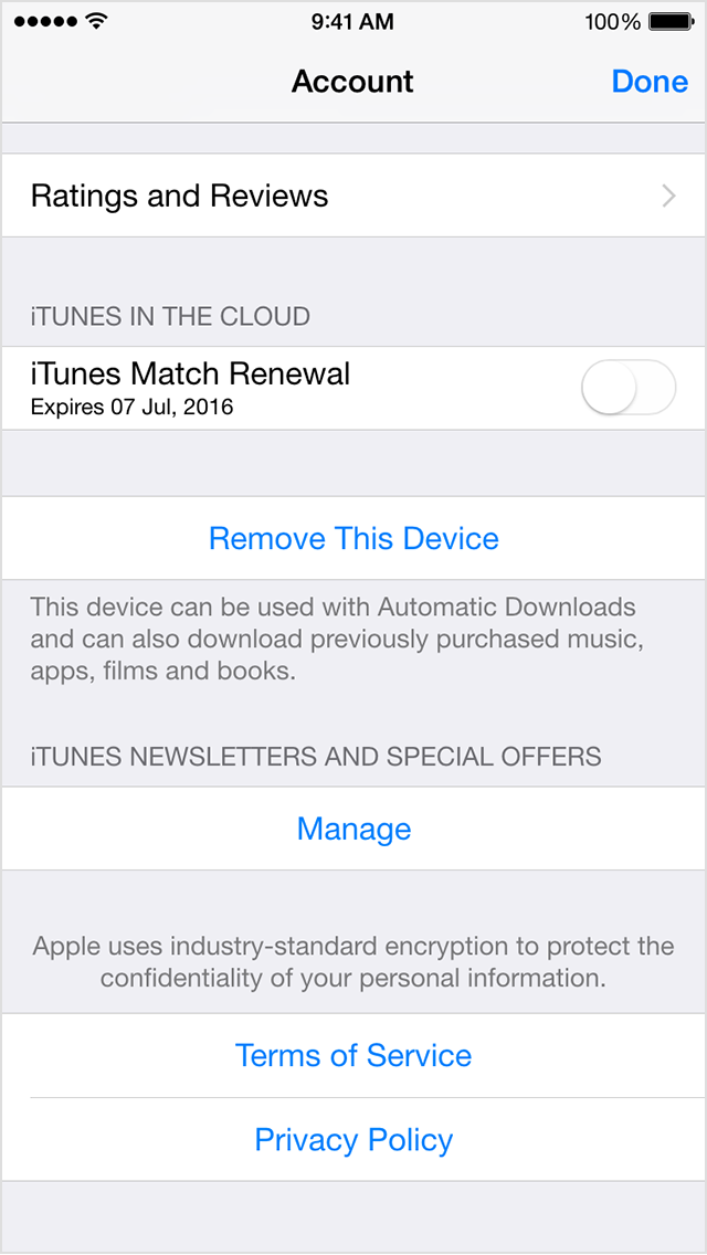 How do i turn off auto renewal on itunes