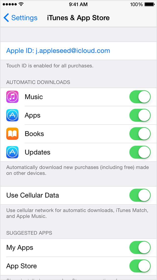 Turn off automatic update iphone 6 12