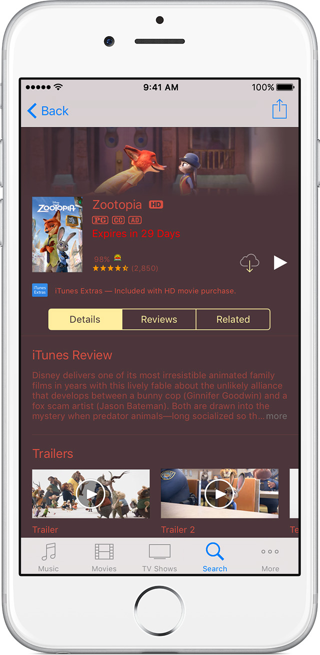How to download movies purchased on apple tv