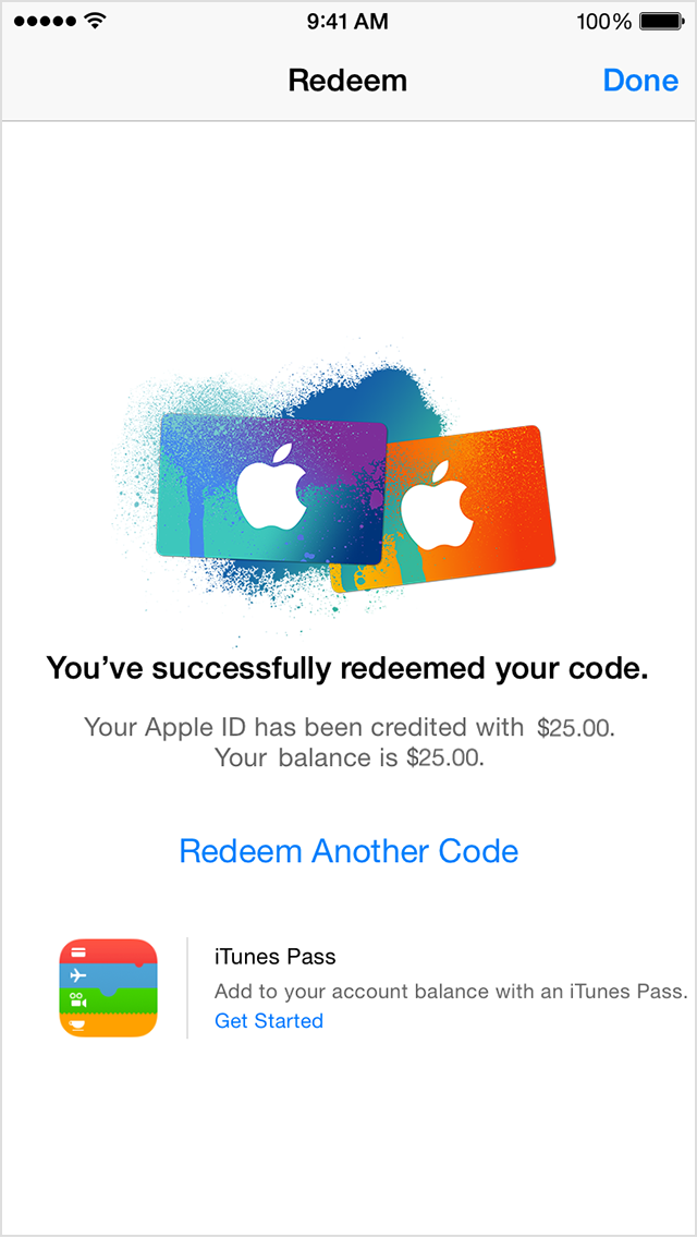how to put itunes card on iphone redeem itunes and apple gift cards with the 5762