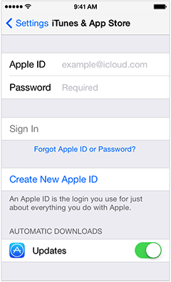 how to download an app with a different apple id