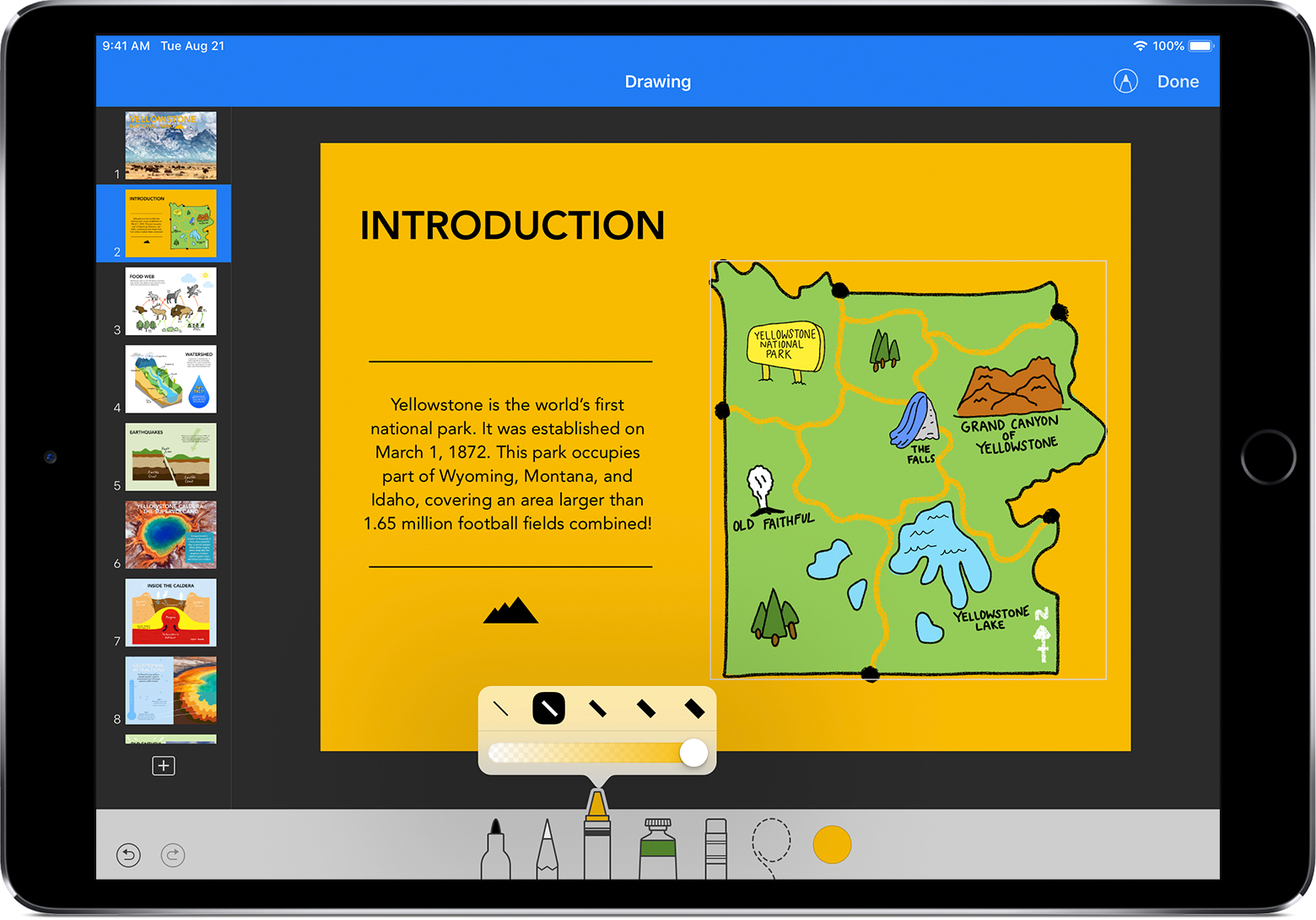 Draw in Numbers and Keynote on your iPad or iPhone - Apple Support