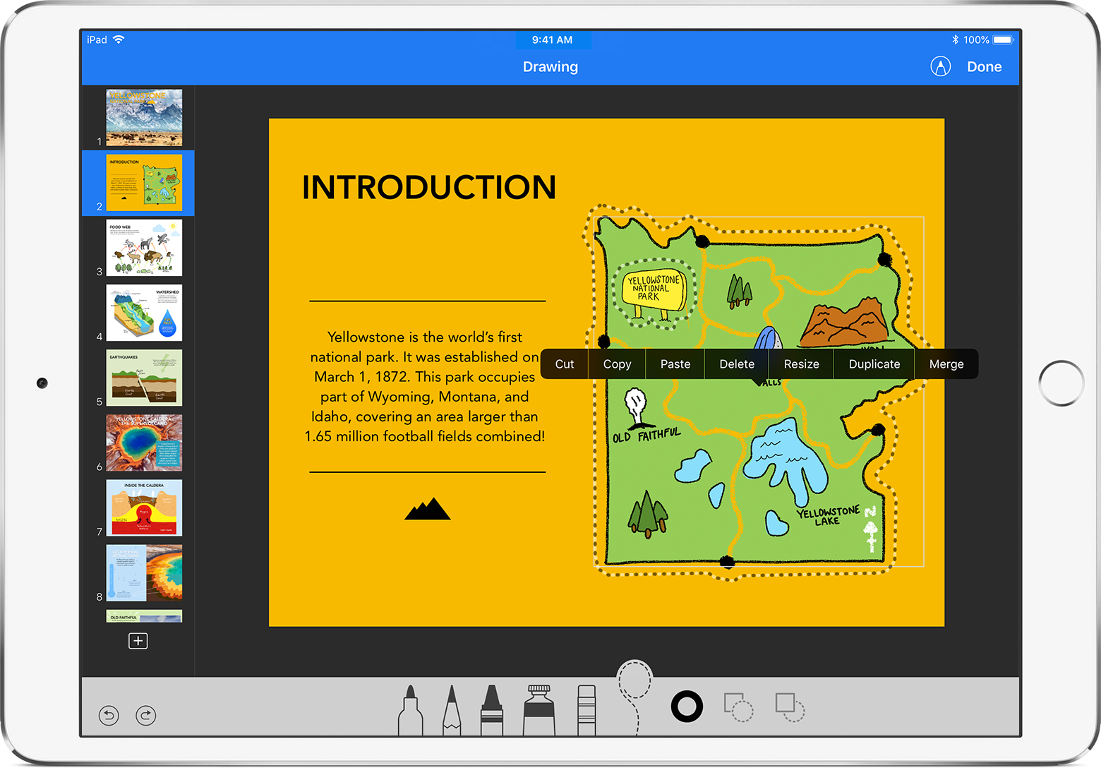 Drawing Lines In Keynote : Draw in numbers and keynote on your ipad iphone or ipod