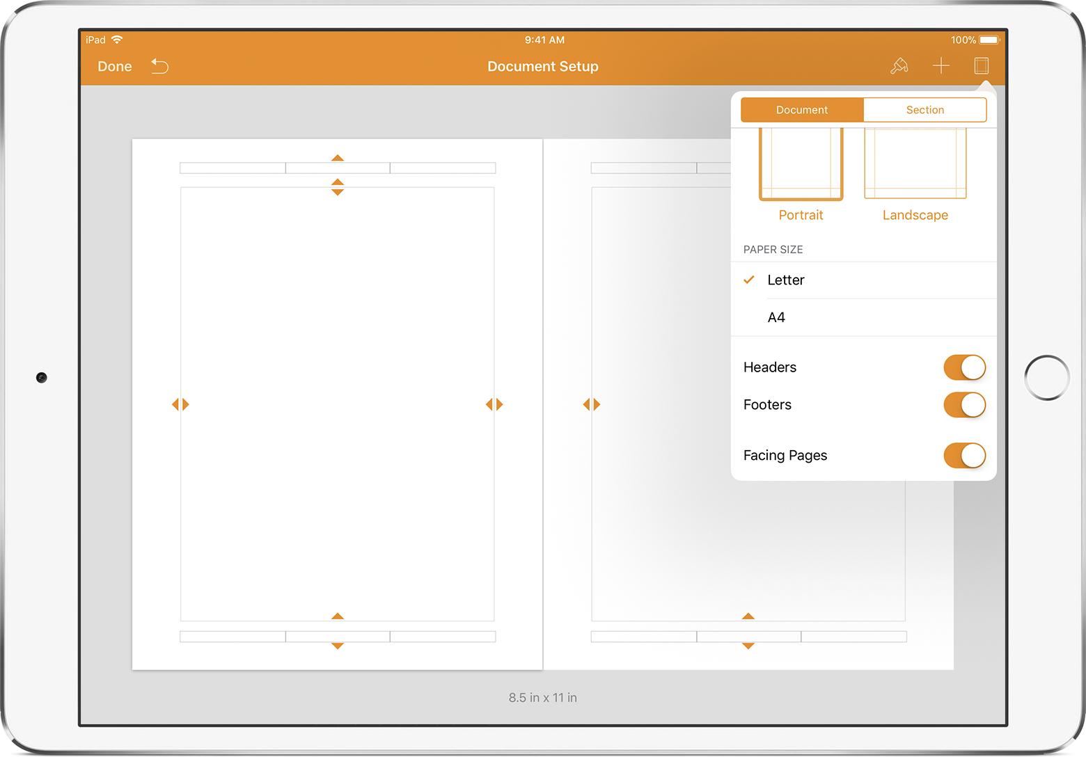 Großartig Seiten Fortführen Ipad Bilder - Beispiel Business ...