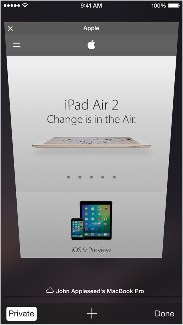 Turn Private Browsing on or off on your iPhone, iPad, or ...