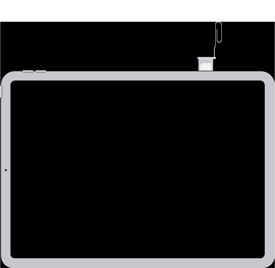 iPhone veya iPad'inizdeki SIM kartı çıkarma veya değiştirme - Apple Destek