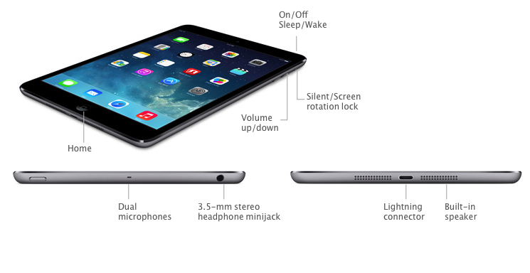 ipad air 2 serial number location