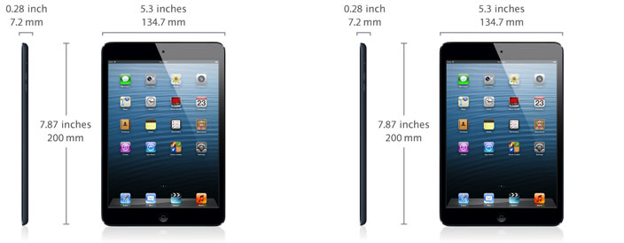 ipad 3 vs ipad 4 vs ipad air specs