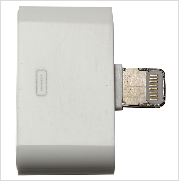 Counterfeit Lightning to 30-pin Adapter & Identify counterfeit or uncertified Lightning connector accessories ...