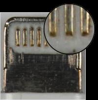 Gefälschtes oder nicht zertifiziertes Lightning Connector-Zubehör ...