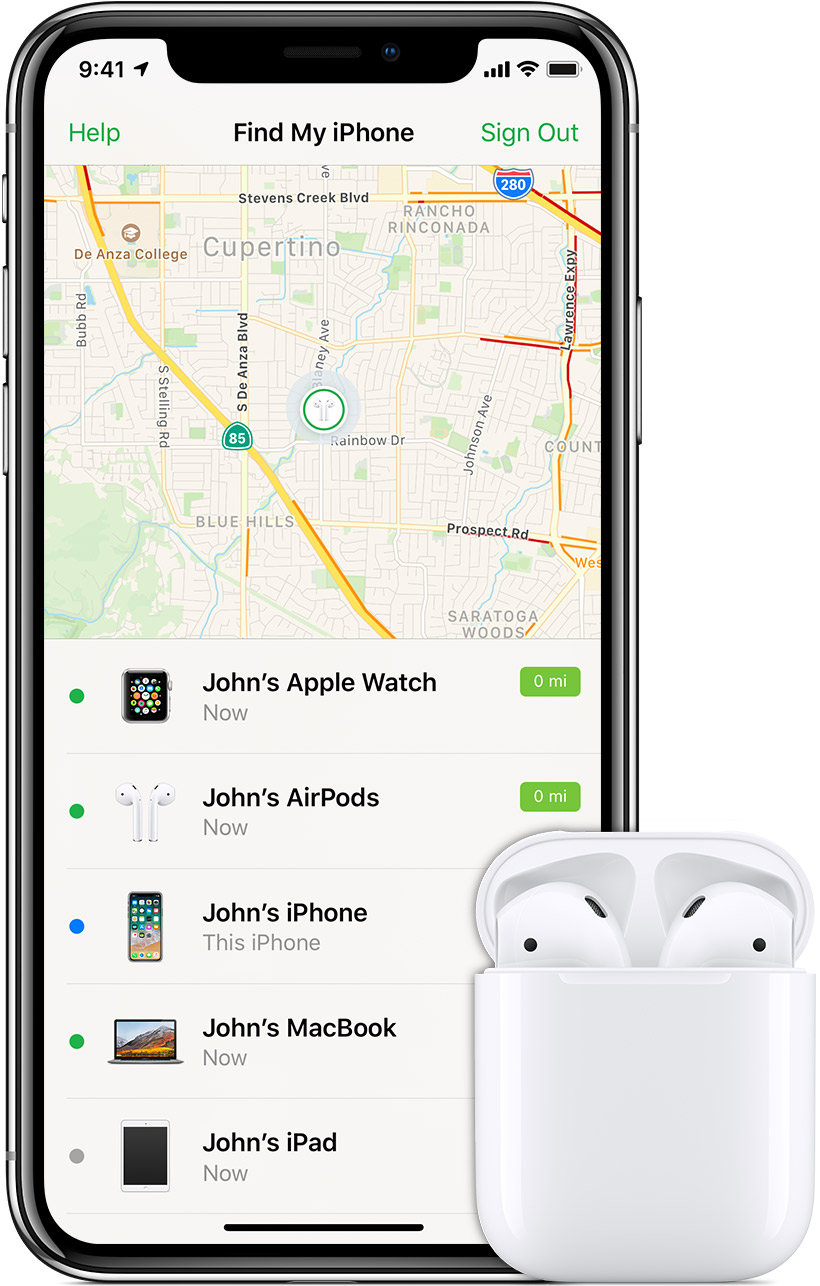brand new 2dbab ec747 If your AirPods are lost - Apple Support