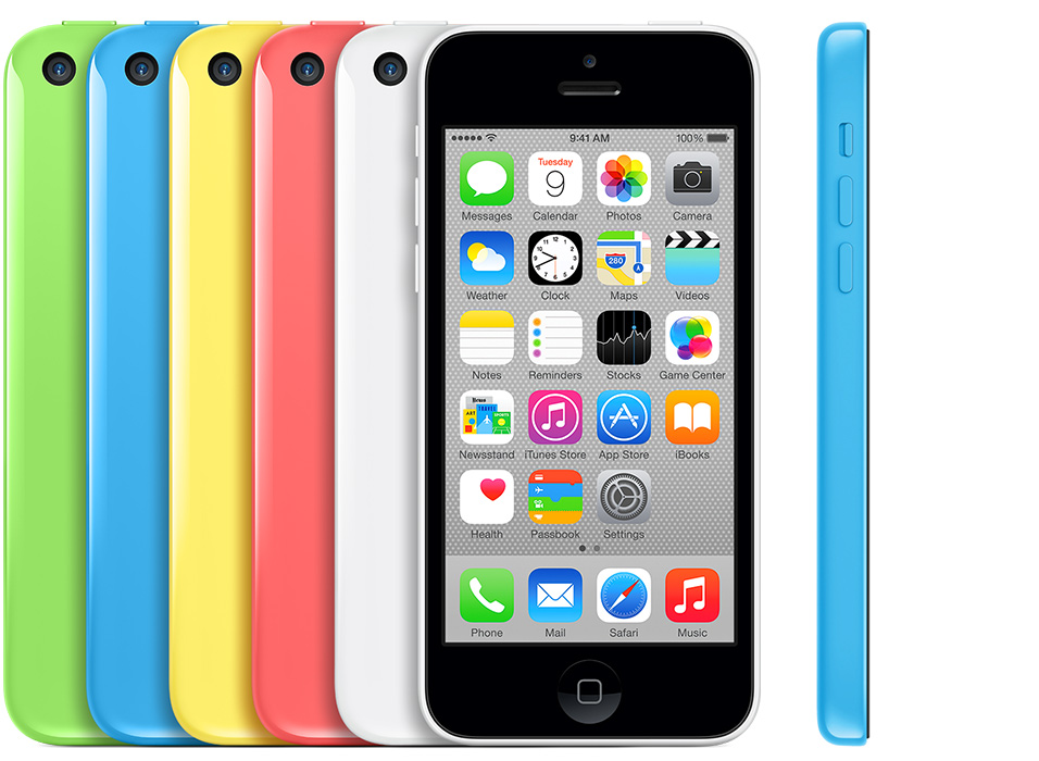 Iphone C All Colors