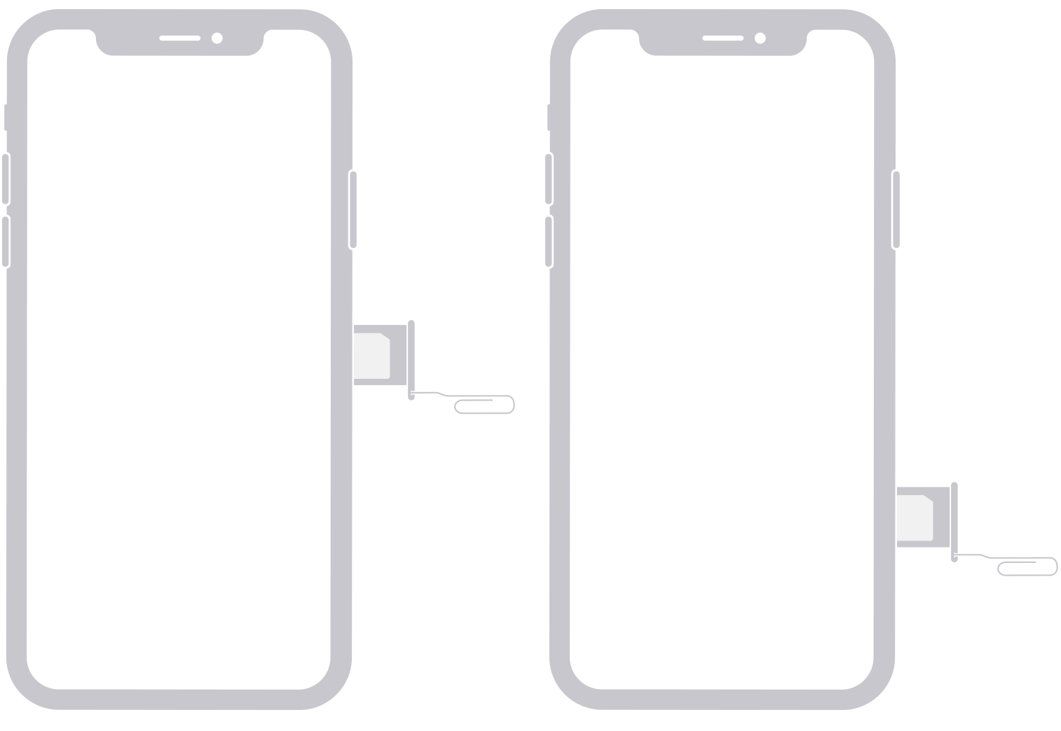 iphone x xr remove sim card tech spec diagram