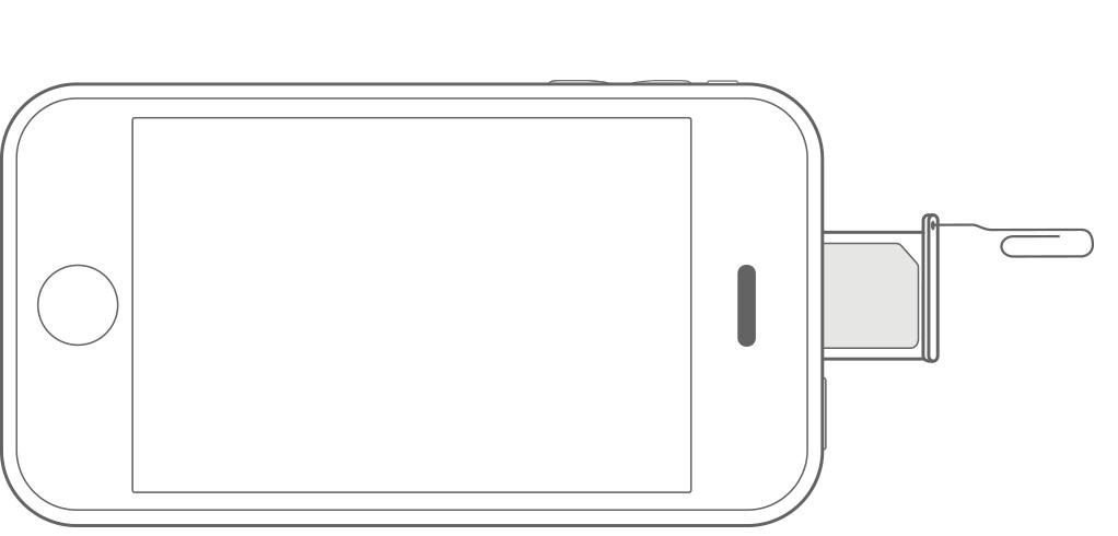 Sim Karte Des Iphone Oder Ipad Entnehmen Oder Austauschen