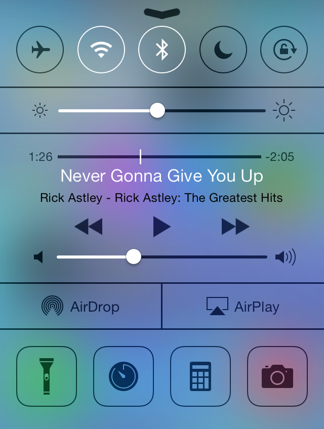 Use Control Center On Your Iphone Ipad And Ipod Touch
