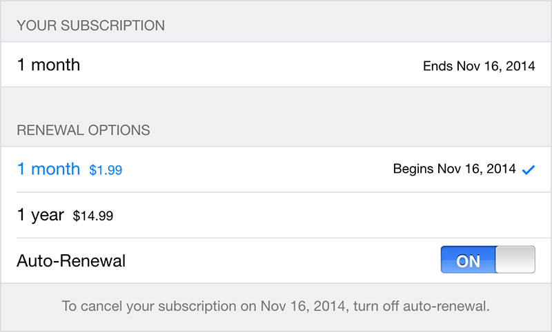 how to cancel an a purchased subscription | Official Apple Support ...