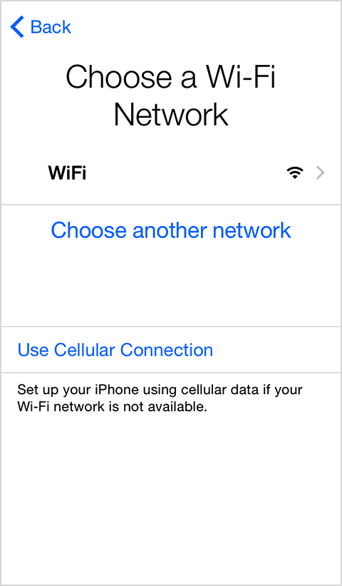 Choose Wifiwork Iphone Ios 8