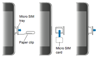 removing sim card from iphone 5 remove or switch the sim card in your iphone or 7154