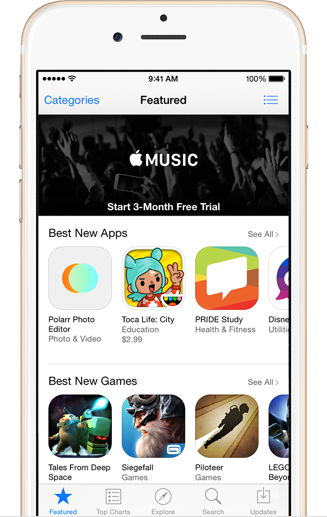 iphone 6 app store move content from your android phone to iphone apple support 3055