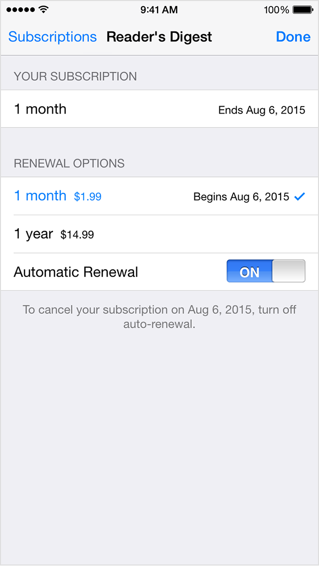 How to Turn Off Apple Music Auto Renewal on iPhone 6  YouTube