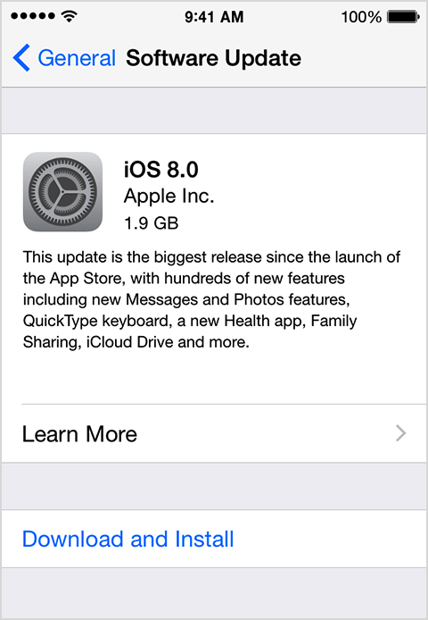 Update the iOS software on your iPhone, iPad, and iPod touch  Apple
