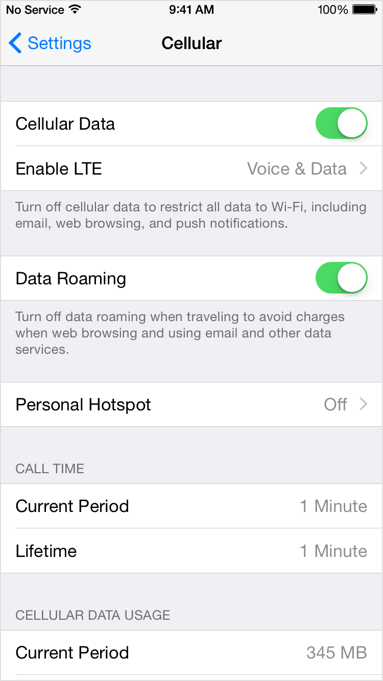 data roaming iphone solved my 4g isn t working on my iphone 5s the giffgaff 7871