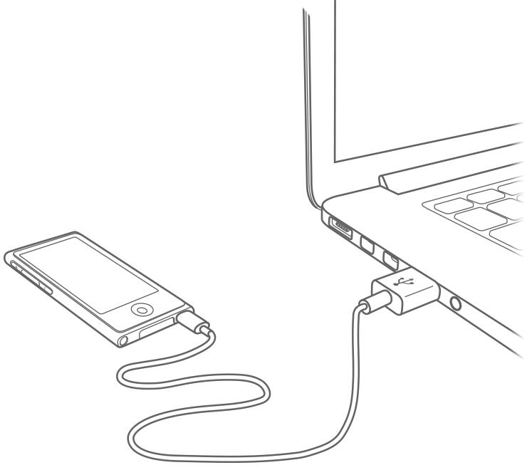 charge your ipod classic  ipod nano  and ipod shuffle