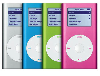 Apple ipod product red