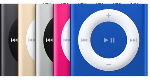 iPod shuffle (4th generation Mid 2015)