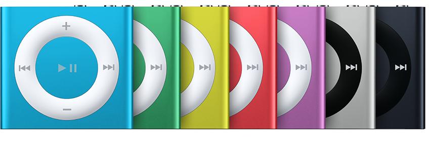 iPod shuffle (4th generation Late 2012)