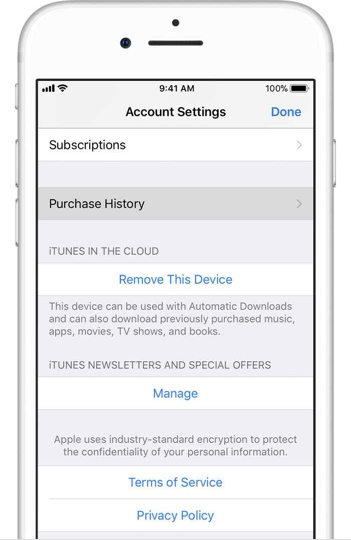 can you get ios 8 on iphone 4 see your purchase history in the app or itunes 20653