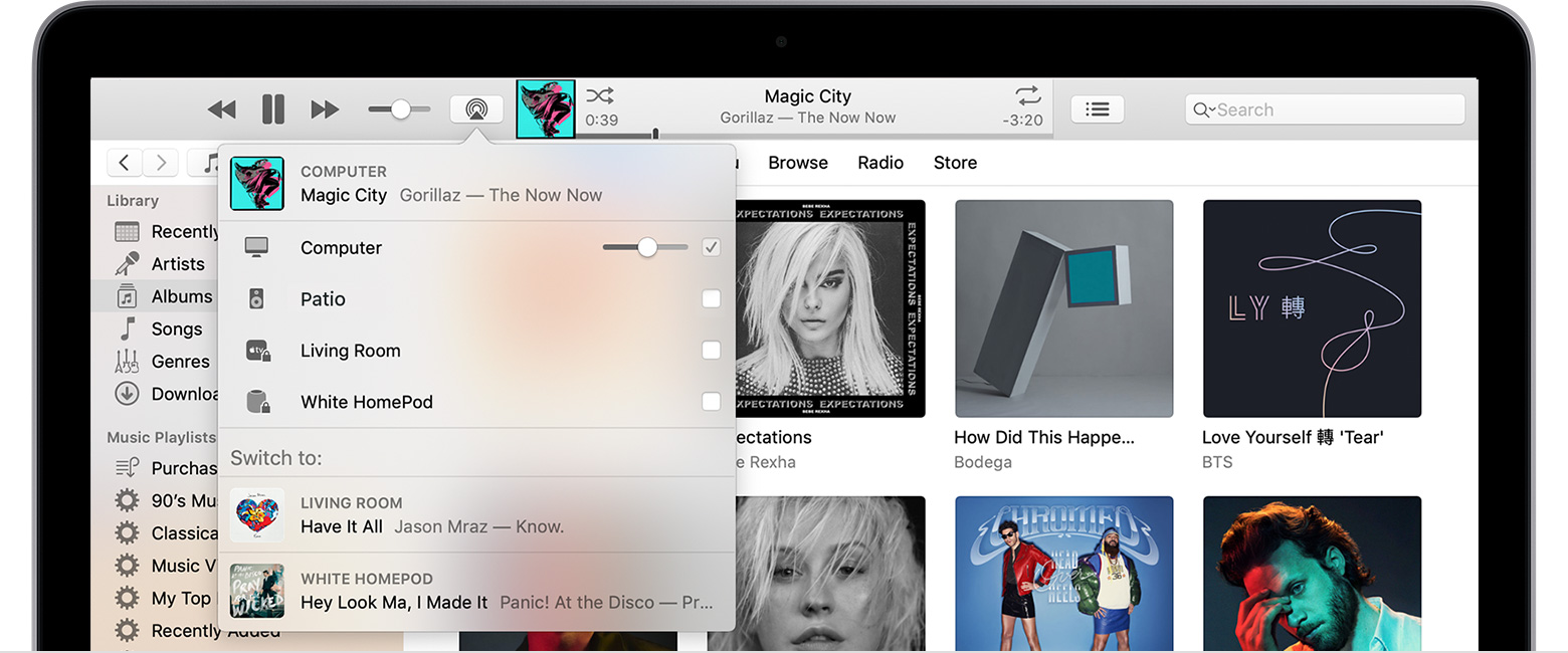 How to AirPlay audio - Apple Support