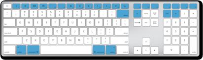num lock on apple keyboard