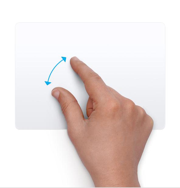 mac finger gestures not working