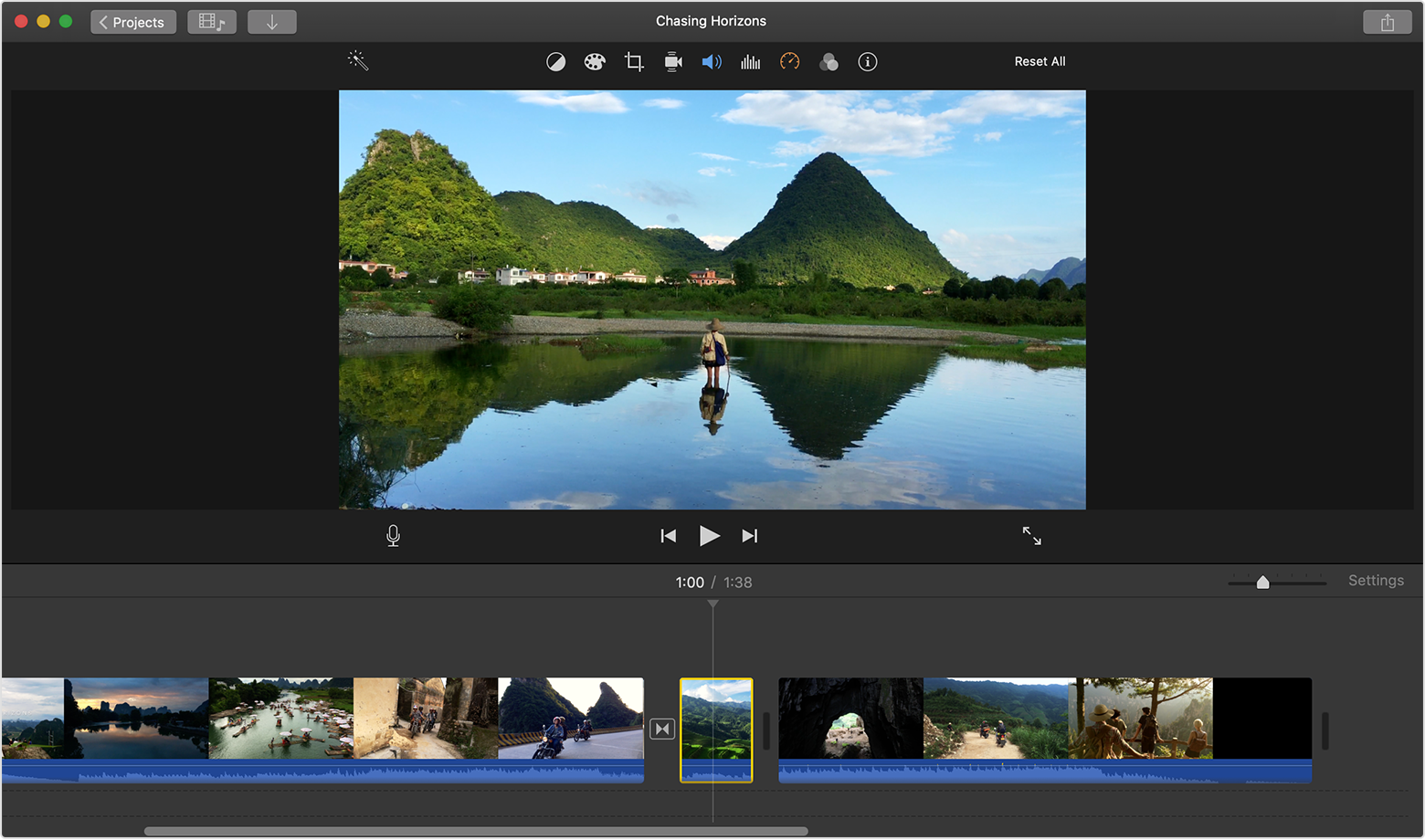 Edit Video In Imovie On Iphone Ipad Ipod Touch And Mac Apple Support