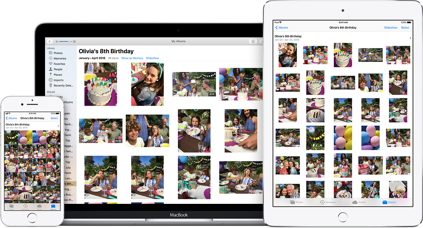 Use photos on your mac apple support manage your icloud storage baditri Images