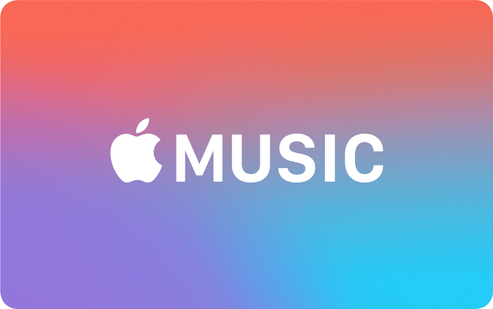 Carta regalo Apple Music