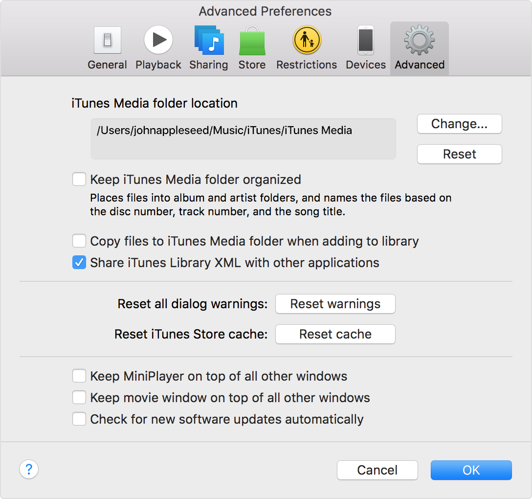 how to delete music in itunes