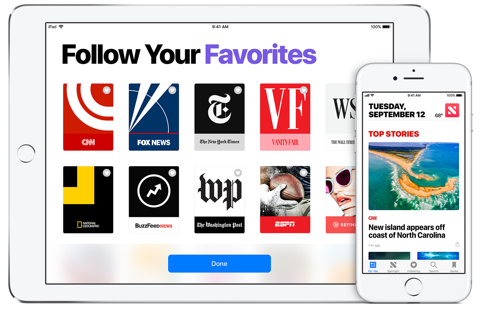 Use the news app on your iphone ipad or ipod touch apple support ccuart Gallery