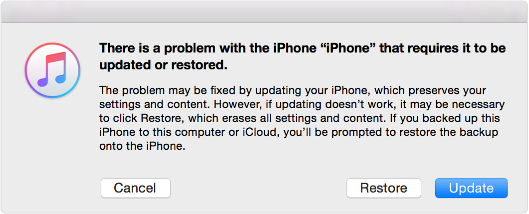 how to unlock a disabled iPhone - Restore iPhone
