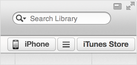 how to clear my itunes library on iphone
