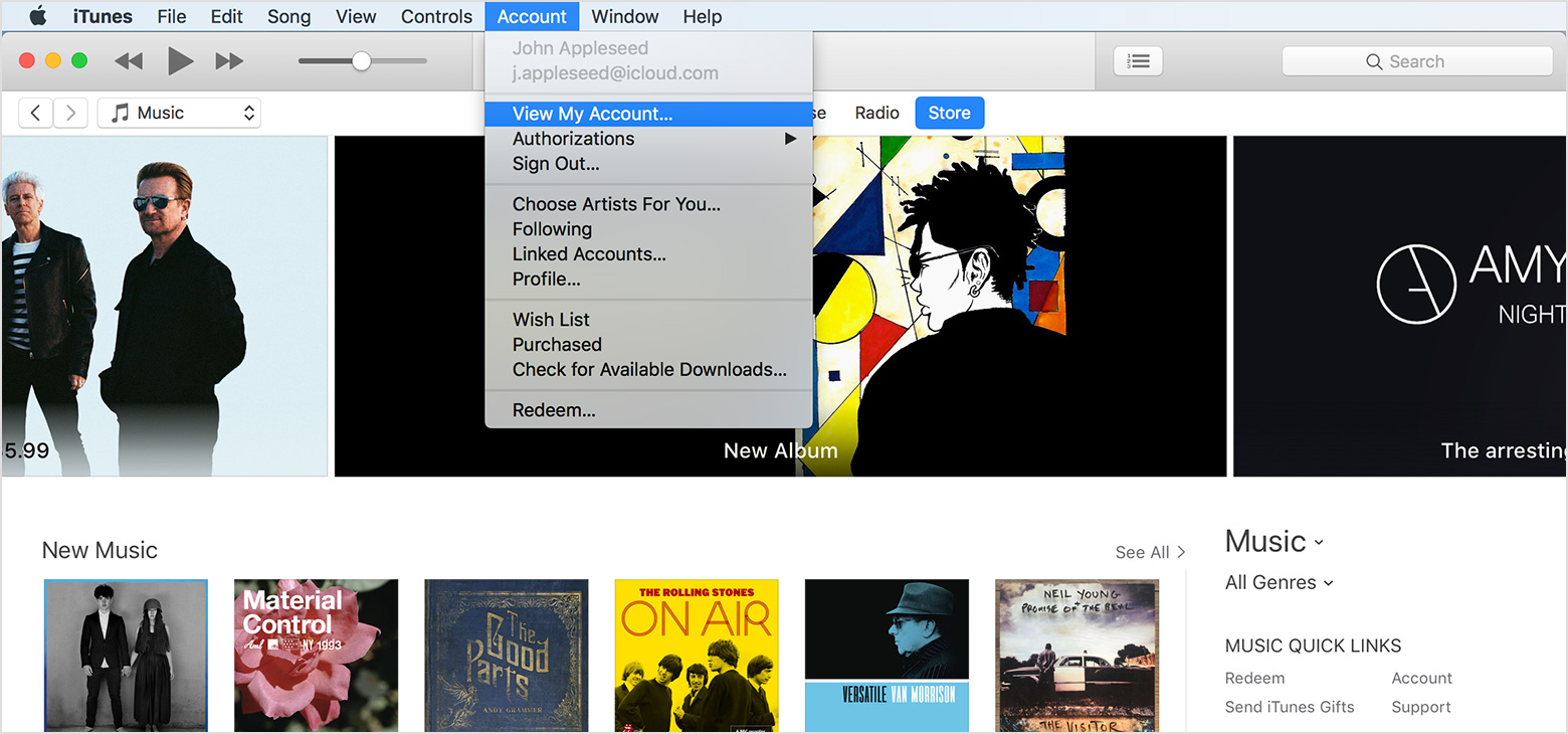 Authorize your computer in iTunes - Apple Support