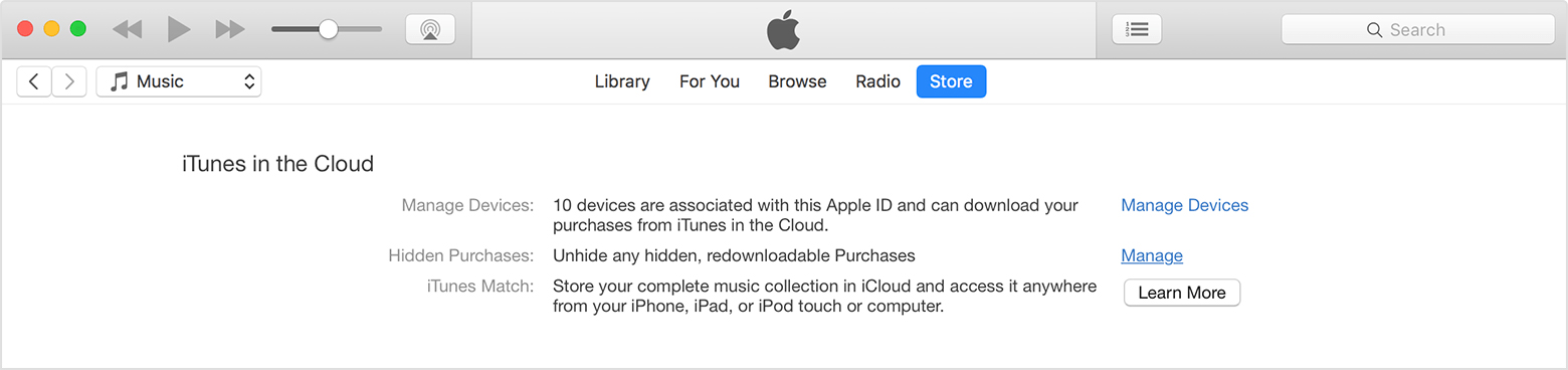 itunes wont  movie from icloud
