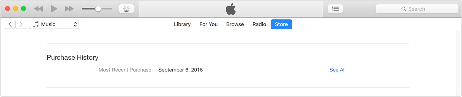 how to delete itunes purchase history