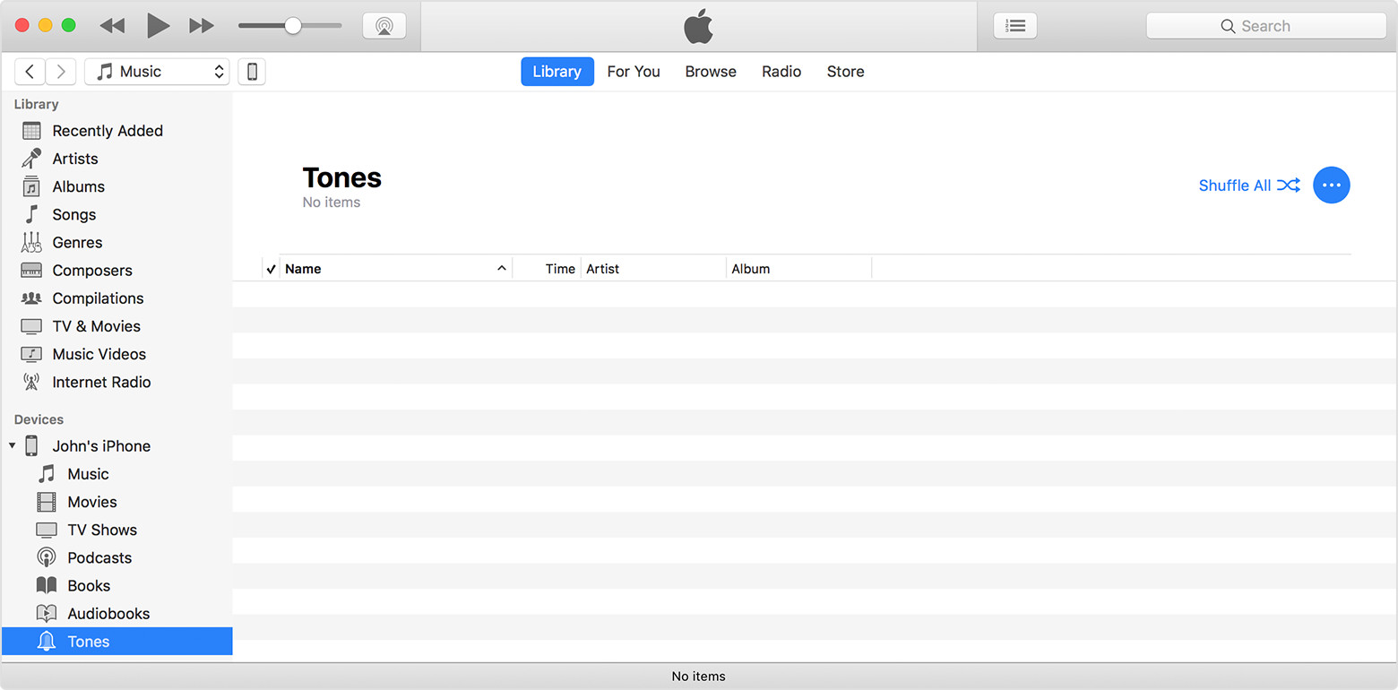 How To Delete Playlist On Itunes >> Use tones and ringtones with your iPhone, iPad, or iPod touch - Apple Support
