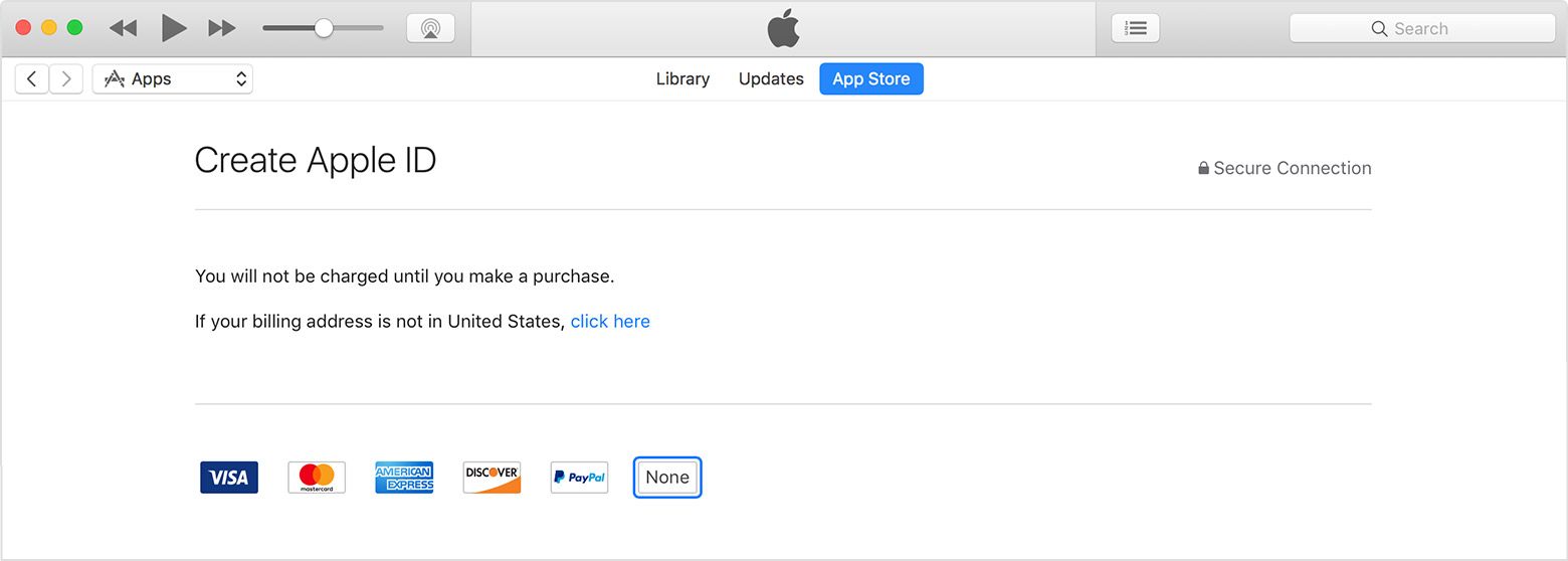 Create Or Use Your Apple ID Without A Payment Method Apple Support - Us zip code for apple id