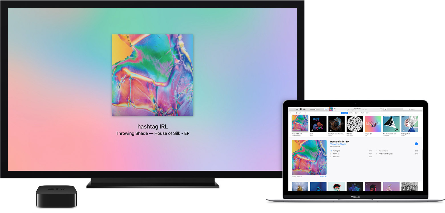 Restore your Apple TV through iTunes