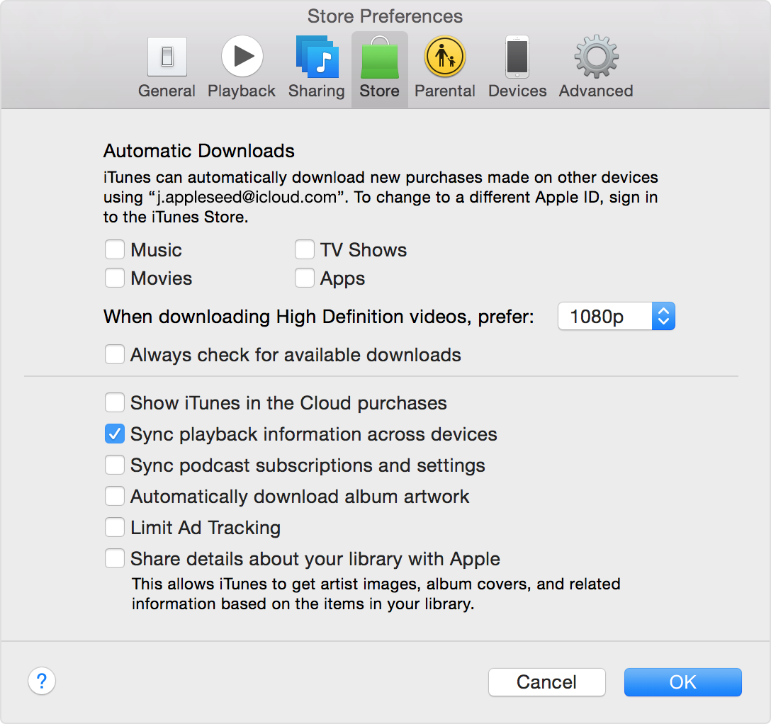 how to delete stored itunes podcasts on mac