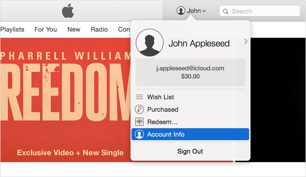 how to delete purchase history on itunes imac