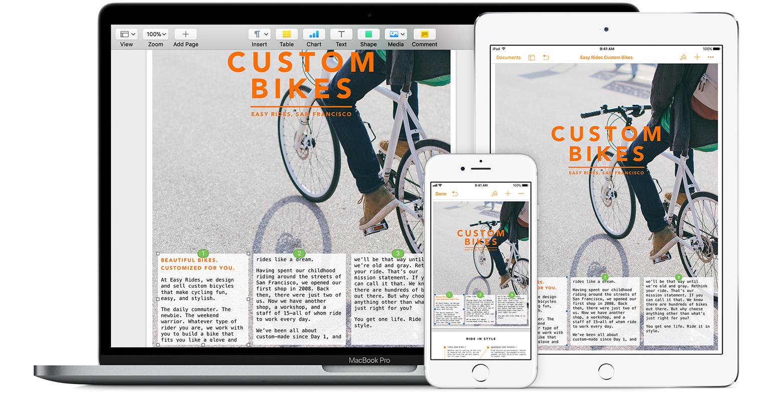 Añadir cuadros de texto enlazados en Pages - Soporte técnico de Apple